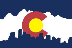 co flag mountains