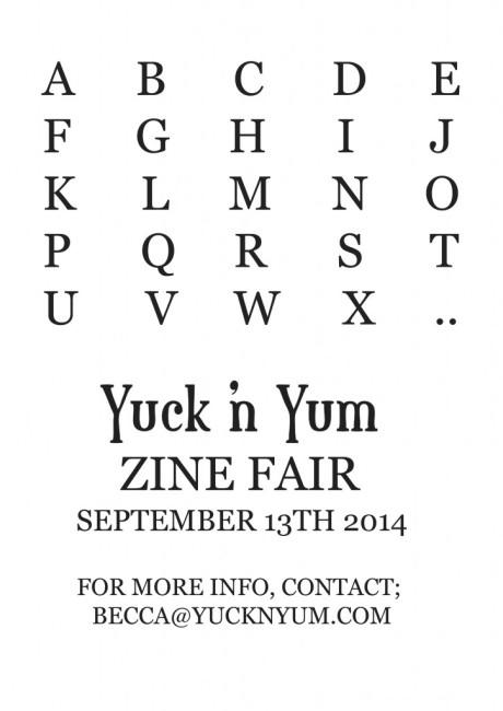 Zine Fair YNY